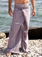 Thai Fisherman Pants Cotton Soft Grey
