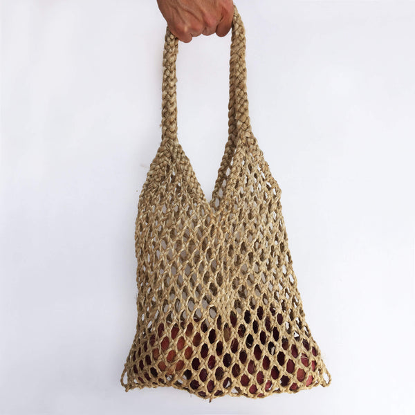 Thai Hand Woven Hyacinth Bag