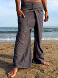 Thai Fisherman Pants Muang Cotton Gray - Seconds