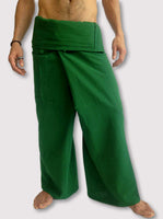 Thai Fisherman Pants Muang Cotton Green