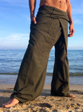 Thai Fisherman Pants Cotton Olive Green - Seconds