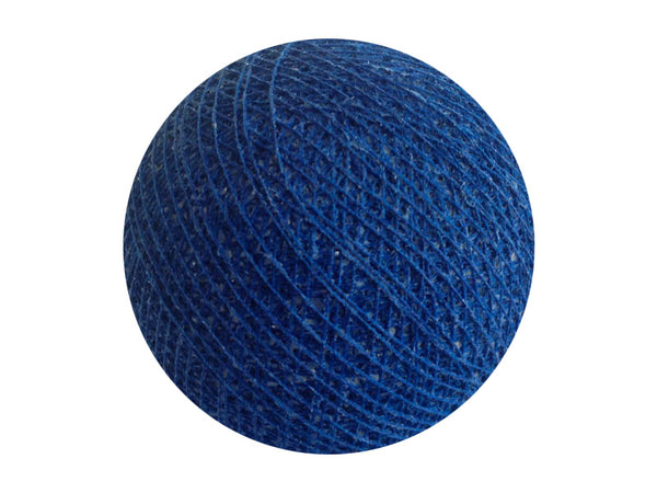 Bindi Cotton Ball Lantern Blue Marine