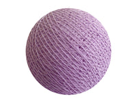 Bindi Cotton Ball Lantern Lavender