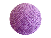 Bindi Cotton Ball Lantern Violet