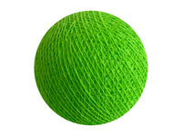 Bindi Cotton Ball Lantern Lime