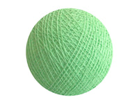 Bindi Cotton Ball Lantern Mint Green