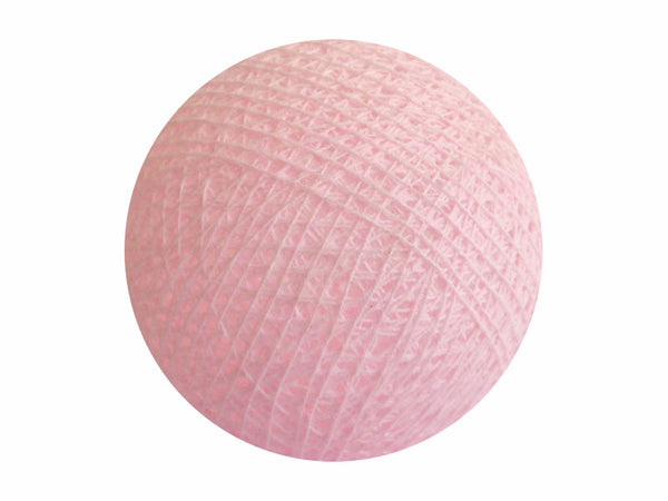 Bindi Cotton Ball Lantern Pink Rose