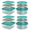 Image of stackable plastic boxes