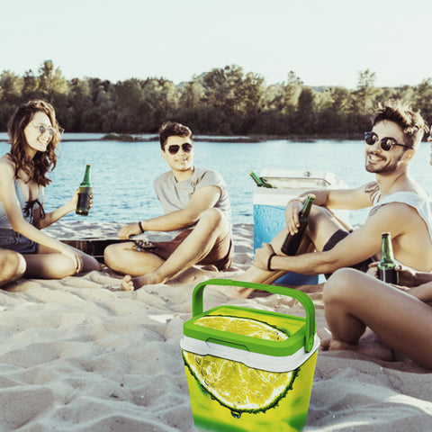 Cooler Box - Cool Food Storage Box 29L - Be Stylish At The Beach