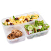 Image of Prêt-à-Paquet Set of 3 Lunch Boxes - Blue/Grey/Green