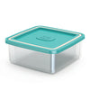 Image of Combo 6 Food Containers - Plastic Boxes -  Fit In Each Other