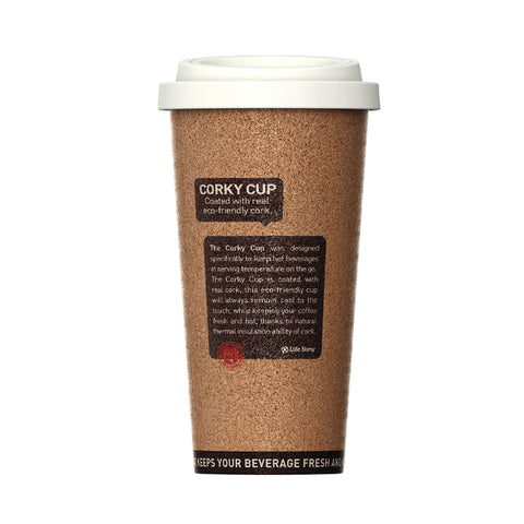 Travel coffee mug Corky Cup
