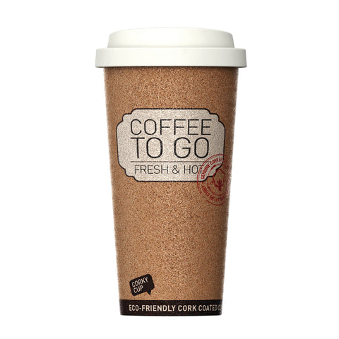 Corky Cup - Best On The Go Coffee Cup In The World