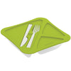 Image of Pack of 2-  Lunch Time - Lunch Box With Fork And Knife