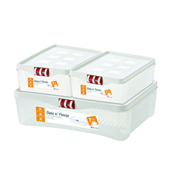 Date n' Freeze - plastic food containers - freezer containers