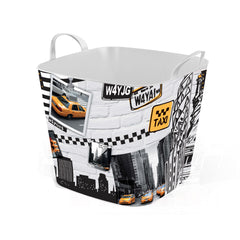 Stylish TUB  -25L- Storage Basket / New-York