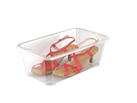 Pack of 10 - Storage Box Set by Life Story - Perfect For Shoes