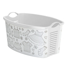 "Laundry Basket ""White Clothes"" laundry bin"