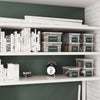 Image of Write n' Wipe - Plastic Storage Drawers - 3 Compartments With Erase Marker
