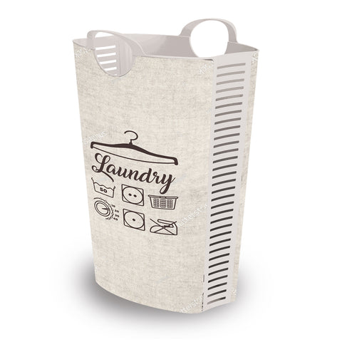 Laundry Hamper Retro 58L + 4 FREE Lunchboxes Included