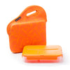 Image of orange lunch box