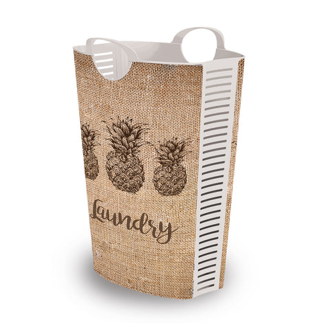 Laundry Hamper Pineapple 58L + 4 FREE Lunchboxes Included