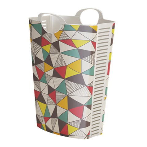 Laundry Hamper Triangle Design 58L + 4 FREE Lunchboxes Included