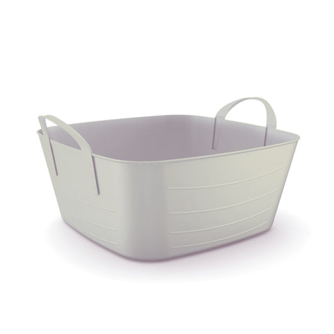 Trendy Shallow Storage Tub - Multifunctional - 12.5L - Design At Home