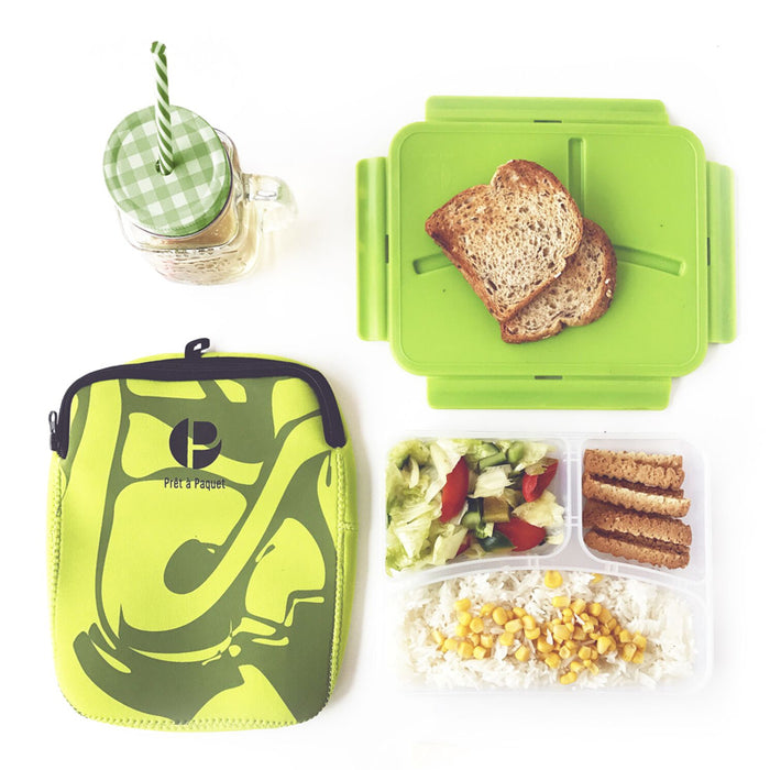 Prêt-à-Paquet Stylish Sleeved Amazing Leak-proof Lunch Box