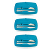 Image of Pack of 3 - Lunch Break - Plastic Cutlery Included - Trendy & Easy to Eat Outside - Blue