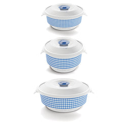 blue Microwave Cookware