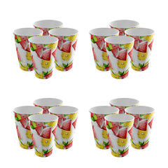 Pack of 16 Trendy Party Cup - Strong Plastic - Recyclable - Perfect For Your Parties