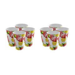 Pack of 8 Trendy Party Cup - Strong Plastic - Recyclable - Perfect For Your Parties