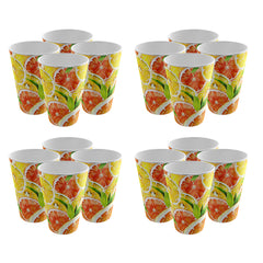 Pack of 16 Trendy Party Cup - Strong Plastic - Recyclable - Perfect For Your Picnic Part