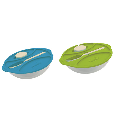 Set of 2 - Practical Salad Time - Lunch Box