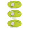 Image of Set of 3 - Salad Break - Genius Salad Boxes - Stylish & Convenient To Eat Outside - Green