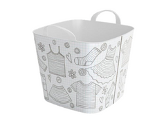 Stylish TUB  -25L- Storage Basket / Clothes Design