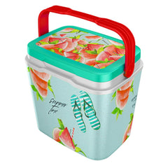Camping cooler box watermelon