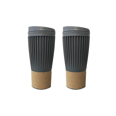 Travel coffee mug Corky Cup - 500mL - Set Of 2