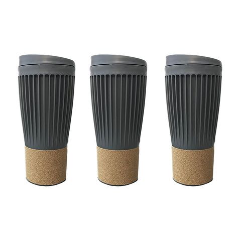 Travel coffee mug Corky Cup - 500mL - Set Of 3