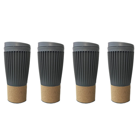 Travel coffee mug Corky Cup - 500mL - Set Of 4