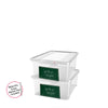 Image of Write n' Wipe - Plastic Storage Box With Erase marker - 11L - Pack of 2