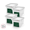 Image of Write n' Wipe - Plastic Storage Box With Erase marker - 5L - Pack of 4