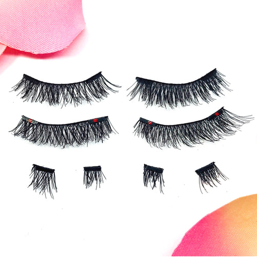 So Divine Full Strips - 1 Pair of Magnetic Silk Full Strip Lashes