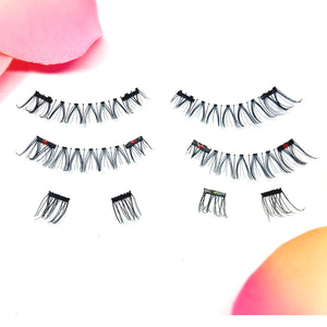Here Kitty-Kitty Full Strips - 1 Pair of Silk Magnetic Full Strip Lashes