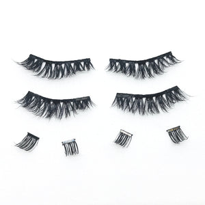 Drama Queen Full Strips - 1 Pair of Magnetic 3D Mink Full Strip Lashes