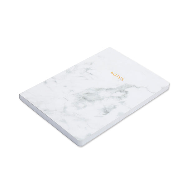 Marbleous A5 Notebook - White