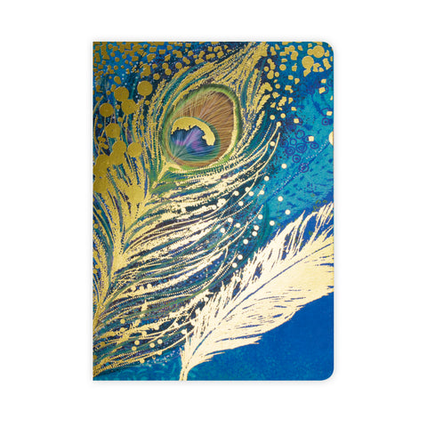 OPIUM A5 Notebook - Peacock