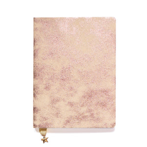 ALL THAT GLITTERS A5 NOTEBOOK - SATIN BLUSH