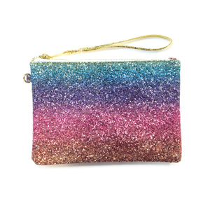 ALL THAT GLITTERS Pouch - Rainbow Sequin